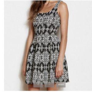 A/X armani exchange black and white dress sz 6